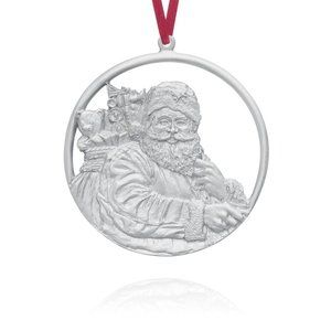 Pewter Tree Ornament - Twas the Night